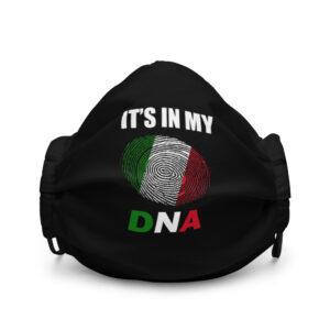 Italian DNA Premium face mask