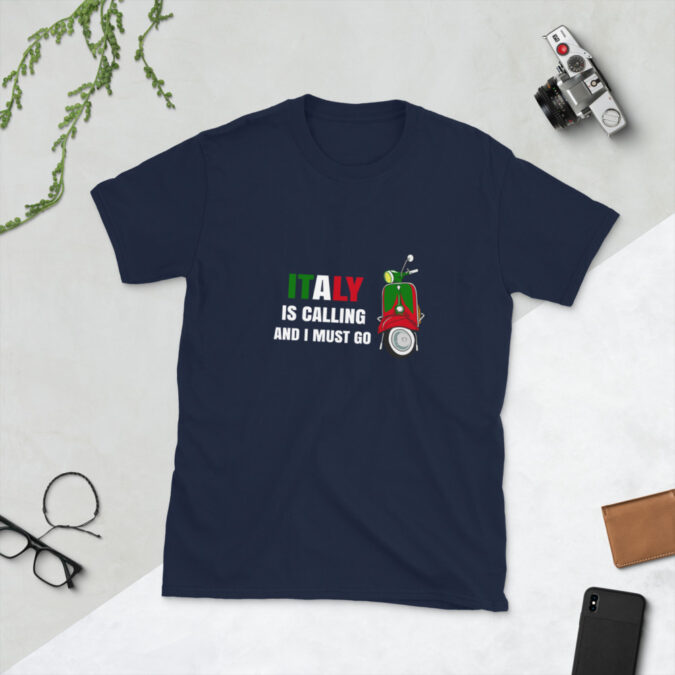Italy is Calling Short-Sleeve Unisex T-Shirt