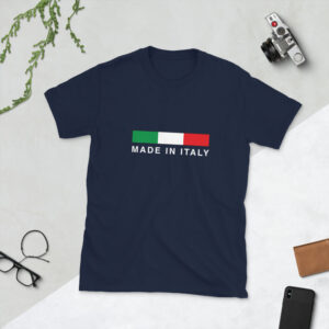 Made In Italy Short-Sleeve Unisex T-Shirt
