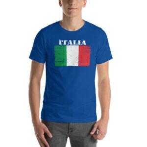 Italy (Italia) Flag Short-Sleeve Unisex T-Shirt
