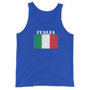 Italy ( Italia ) Flag Unisex Tank Top