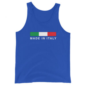 Made In Italy Unisex Tank Top