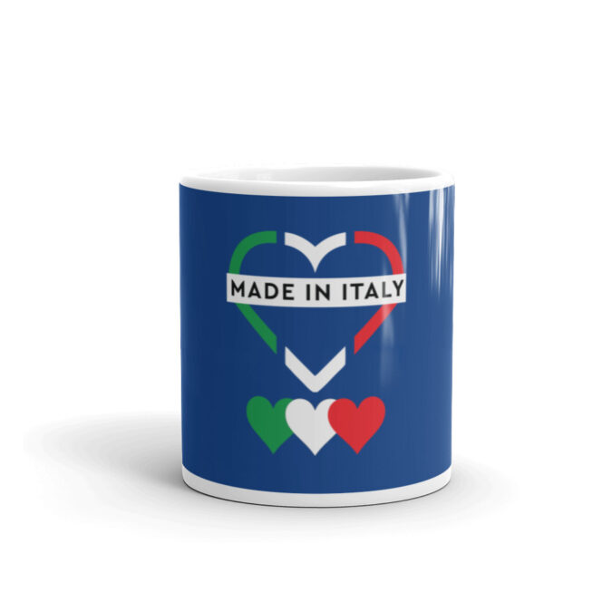 Made In Italy White glossy mug
