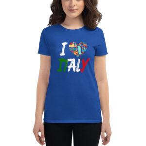 I Love Italy Women's Short Sleeve T-Shirt