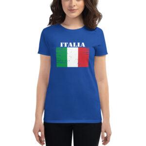 Italy ( Italia ) Flag Women's Short Sleeve T-Shirt