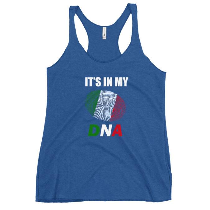 Italian DNA Women's Racerback Tank