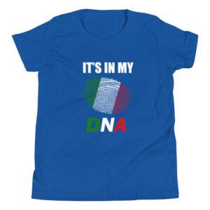 Italian DNA Youth Short Sleeve T-Shirt