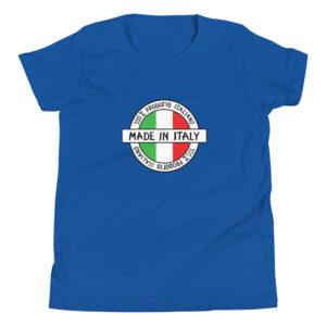 Made in Italy 100% Italiano Youth Short Sleeve T-Shirt
