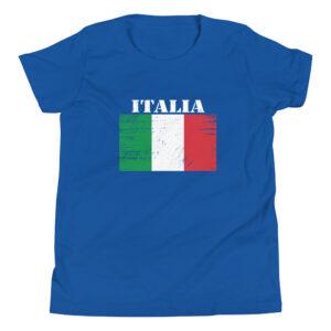 Italy (Italia) Flag Youth Short Sleeve T-Shirt